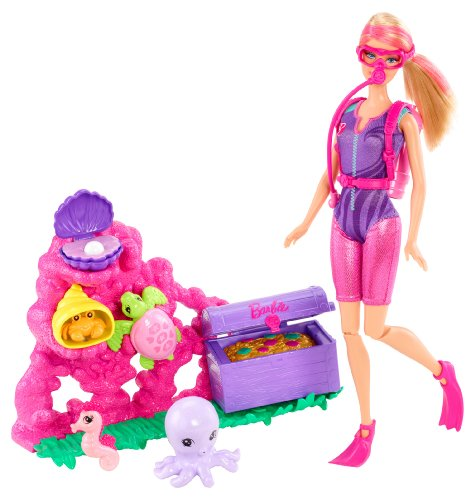 Barbie I Can Be Ocean Treasure Explorer Doll Playset (Barbie I Can Be Dolls compare prices)