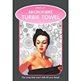 Turbie Towel black head wrap by Country Club - black