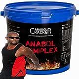 Anabol Komplex, Whey Protein 2,27Kg Vanille oder Banane Eiwei�pulver + Muskel T-Shirt Bild