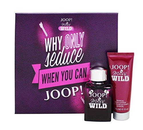 Joop! Miss Wild impostato con corpo lozione 50 ml + 75 ml
