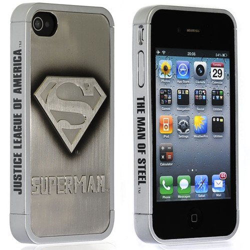 WALKINGINN 3D Superman Hard Case Cover for i Phone 4 4S 4G