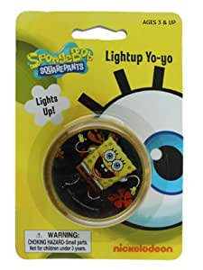 Spongebob Squarepants Light Up Yo Yo - Spongebob Lightup Yo-Yo