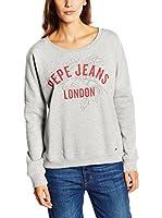 Pepe Jeans London Sudadera Irma (Gris Claro)