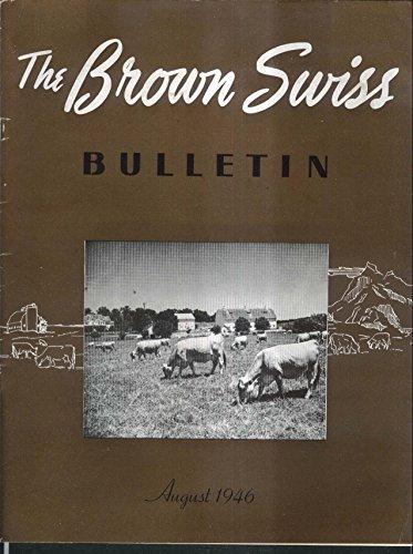 Brown Swiss Bulletin Vitamin D 4-H Field Day George Hubenthal 8 1946