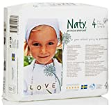 Naty by Nature Babycare Disposable Nappies - Maxi - Size 4 - Pack of 32