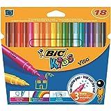 Bic Kids Visa rotuladores 18 por paquete