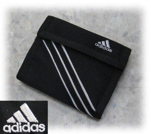 adidas アディダス マジックテープ財布 ブラック