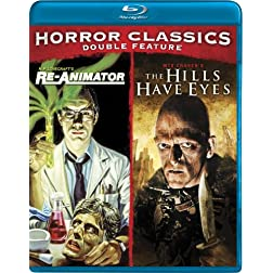 Cult Horror Classics Double Feature (Re-Animator / The Hills Have Eyes) [Blu-ray]