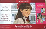 Samantha and Nellie Books and Magnetic Mini World (Meet Samantha, Nellie's Promise, Samantha's Magnetic Mini World, Trading Cards, Samantha Bookmark) (American Girl) (1593692293) by Susan S. Adler