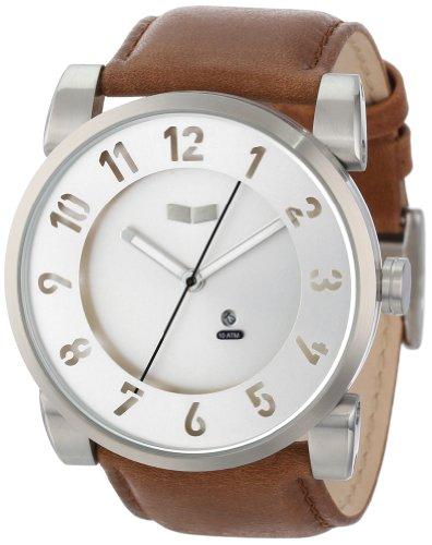Vestal Men'S Dop010 Doppler Brown Silver Watch