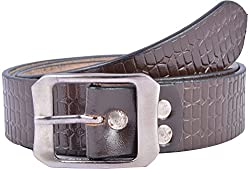 Western Lifestyles Men's Belt (WBL015, Brown, Medium)