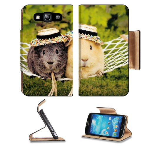 Guinea Pig Cavy Rodent Pets Animals Samsung Galaxy S3 I9300 Flip Cover Case With Card Holder Customized Made To Order Support Ready Premium Deluxe Pu Leather 5 Inch (132Mm) X 2 11/16 Inch (68Mm) X 9/16 Inch (14Mm) Luxlady S Iii S 3 Professional Cases Acce front-558504