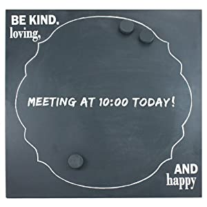 Fetco Home Decor Dasher Be Kind, Loving and Happy Chalk Board