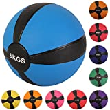 Médecine Ball 1 kg, 2 kg, 3 kg, 4 kg, 5 kg, 6 kg, 7 kg, 8 kg, 9 kg, 10 kg de différentes couleurs