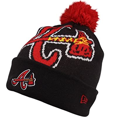 Atlanta Braves New Era Woven Biggie Cuffed Knit Hat