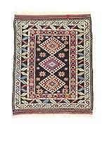 L'Eden del Tappeto Alfombra Konya Antik Rojo / Multicolor 112 x 130 cm