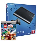 Sony PlayStation 3 12GB Super Slim Console with Lego Marvel Superheroes (PS3)