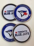 Toronto Blue Jays Four (4) Golf Ball Markers - 2 sided