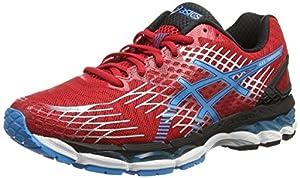 ASICS Gel-Nimbus 17, Men's Training Running Shoes, Red (Fiery Red/Turquoise/Black 2340), 11.5 UK, 47 EU