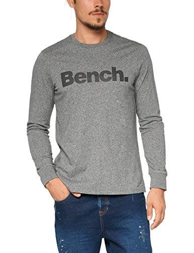 Bench BMGA3741, T-Shirt Uomo, Grau (Raven Marl GY159X), Small
