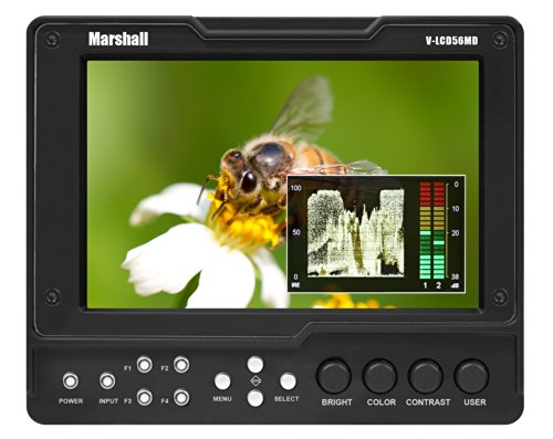 Marshall Electronics V-Lcd56Md-3G Camera Top Monitors (Black)