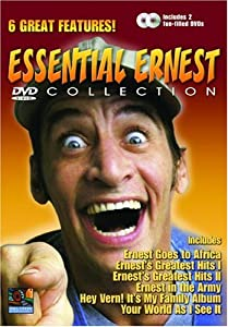Essential Ernest Collection Ernest Goes To Africa Ernests Greatest Hits I Ernests Greatest Hits Ii Ernest In The Army Hey Vern Its My Family Album Your World As I See It from Mill Creek Entertainment