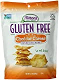 Milton's Craft Bakers Gluten-Free Baked Crackers, Cheddar Cheese, 4.5 Ounce
