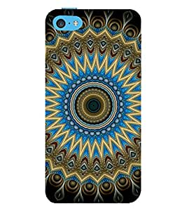 printtech Abstract Pattern Back Case Cover for Apple iPhone 5