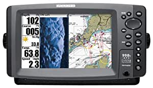 Humminbird 998c SI Combo 8-Inch Waterproof Marine GPS and Chartplotter with Sounder (Navionics Gold and HotMaps Premium Charts Pre-loaded)