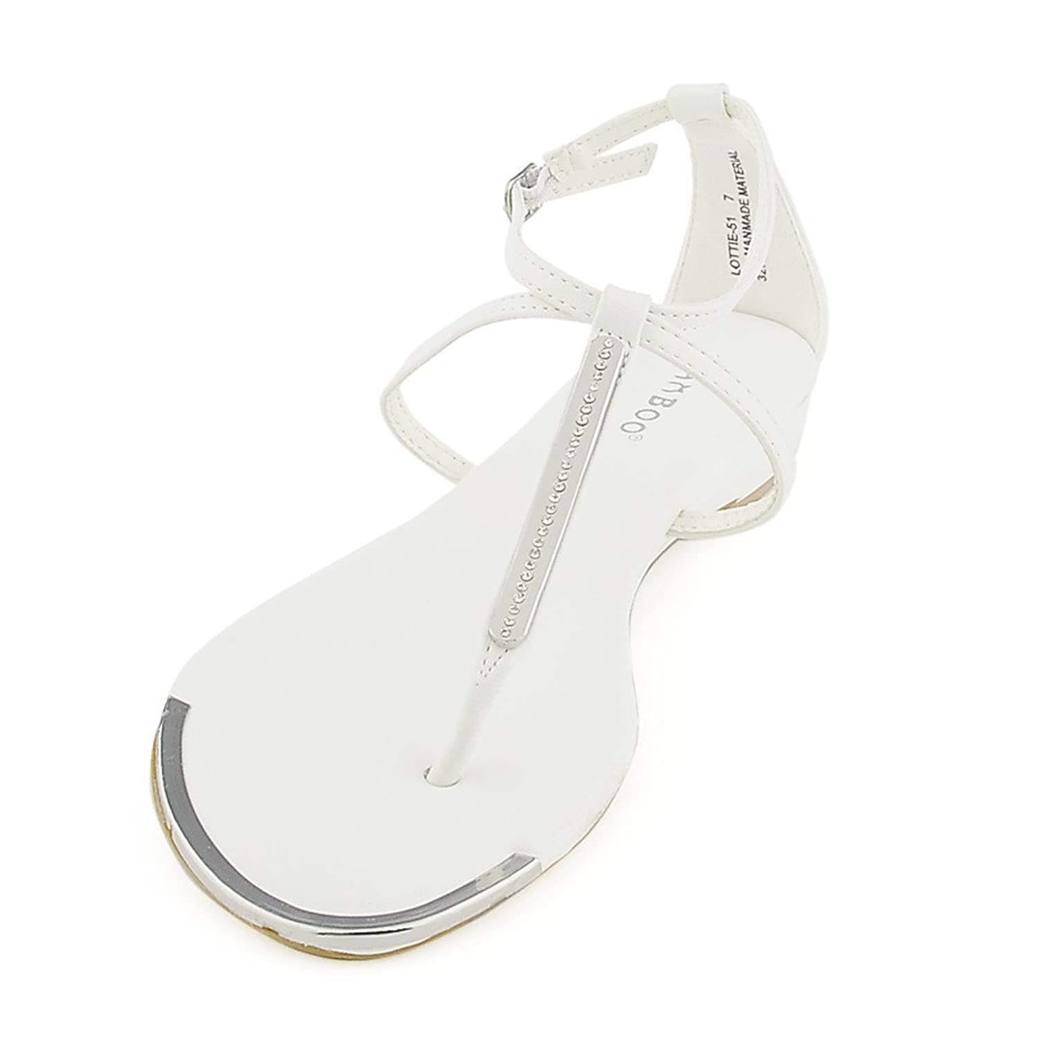 Bamboo Womens Lottie-51 Sandal bamboo womens driven 77 casual wedge