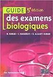 Guide des examens biologiques...