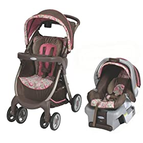 Graco Fastaction Fold Dlx Travel System Jacqueline