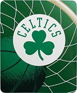 NBA Boston Celtics 50-Inch-by-60-Inch Sherpa on Sherpa Throw Blanket Reflect Design by Northwest