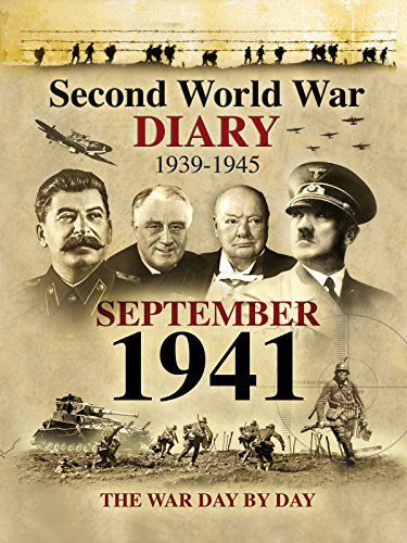 Second World War Diary: September, 1941