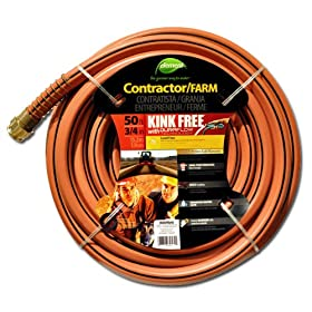 Colorite Element ELCF34050 Contractor/Farm Lead Free, Kink Free 3/4-Inch-by-50-Foot Garden Hose, Brick