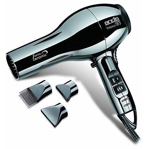 Andis Professional 1875 Watt Hair Dryer 82005 Ceramic Ionic Black Blow Dryer