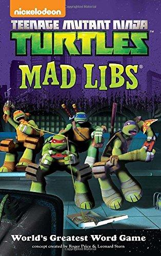 Teenage Mutant Ninja Turtles Mad Libs (Ninja Mad Libs compare prices)