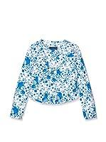 Guess Chaqueta (Azul / Blanco)