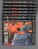 img - for Cirque Du Freak - 8 Book Set - A Living Nightmare/ A Vampire's Assistant, Tunnels of Blood, Vampire Mountain, Trials of Death, The Vampire Prince, Hunters of the Dark book / textbook / text book