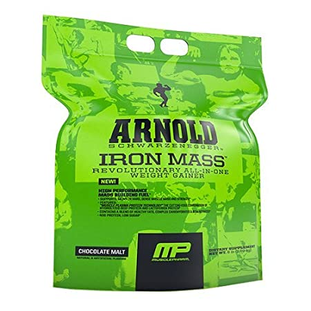 Arnold Schwarzenegger Series by MusclePharm Iron Mass 4,54 kg Chocolate Malt