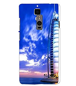 ONE PLUS TWO BUILDING Back Cover by PRINTSWAG