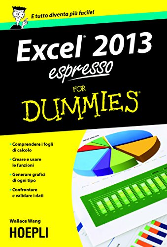 Excel 2013 espresso For Dummies Hoepli for Dummies PDF