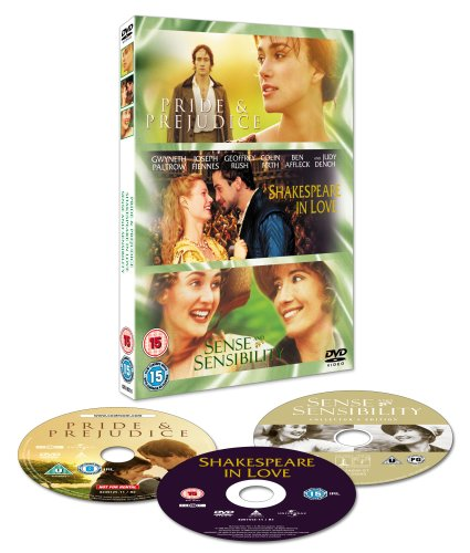 Pride And Prejudice/Sense And Sensibility/Shakespeare In Love [DVD]