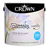 Crown Breatheasy Emulsion Paint - Matt - Crème de la rose - 2.5L