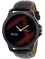 Relish Analog Black Dial Men's Watch Relish-518