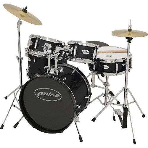 pulse-5-piece-junior-drum-set-black
