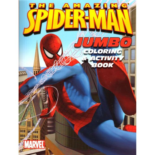 The Amazing Spider-Man Jumbo Coloring & Activity Book (Cover Art May Vary)