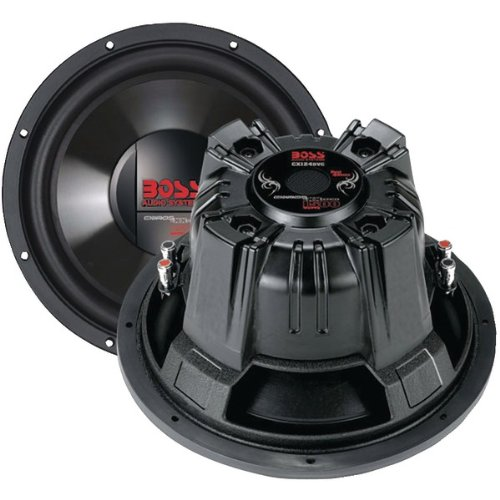 """Brand New Boss Audio Chaos Exxtreme Series Dual Voice Coil Subwoofer (10"""")"""