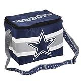 NFL Dallas Cowboys Lunch Bag (Metallic Silver/Blue)