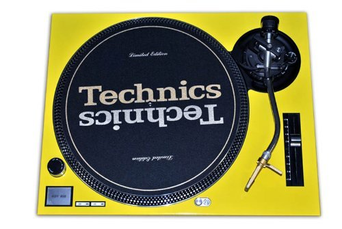 Technics Yellow Face Plate for Technics SL-1200